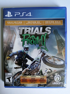 Ps4 Video Juego Trials Rising Gold Edition