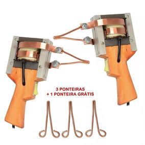 Kit Ferro Solda Pistola Estanhador 350wts 220v (2 Unidades)
