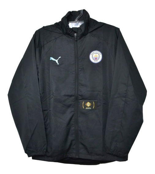 Blusa Tactel Do Manchester City Masculino - Bom E Barato