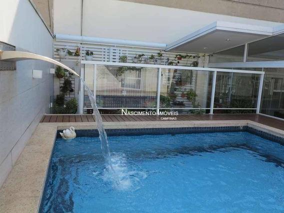 Cobertura Com 4 Dormitórios À Venda, 325 M² Por R$ 1.818.000,00 - Cambuí - Campinas/sp - Co0091