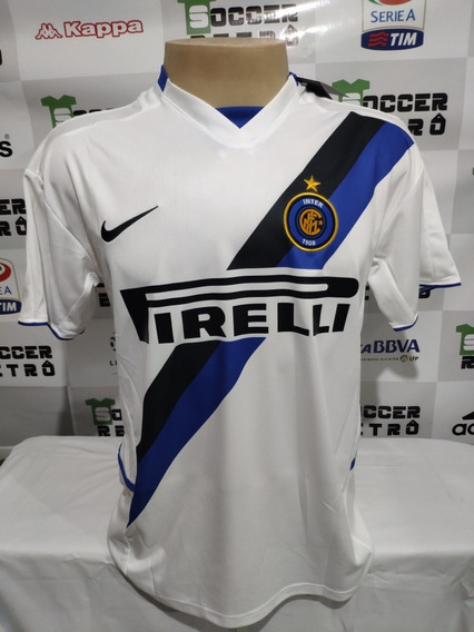 Camisa Inter De Milao 2002-03 Crespo 9 À P/ Entrega