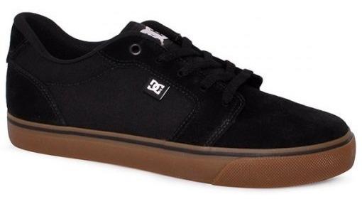 Tênis Dc Shoes Anvil La Preto/natural