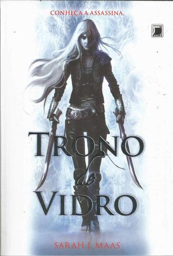 Livro Trono De Vidro - Record - Bonellihq Cx279 E18