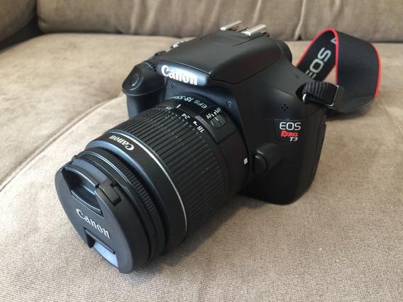 Canon T3 Rebel - Cartão Kingston 16gb