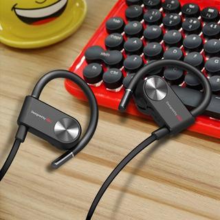 Preto Bluetoothfree Esportes Headset Fone De Ouvido À Prova