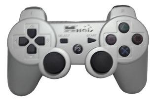 Control Joystick Ps3 Plateado - Inalambrico - Haisgame