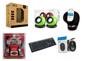 Gabinete Completo Hd 500gb 4gb Teclado Mouse Caixa Som, Fone