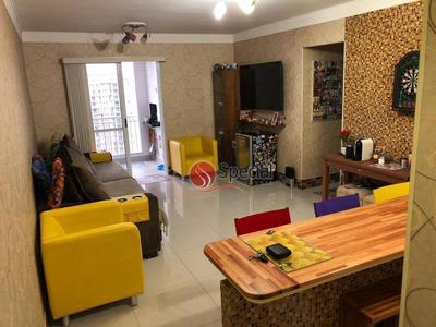 Apartamento Com 3 Dormitórios À Venda, 76 M² - Moóca - São Paulo/sp - Ap11863