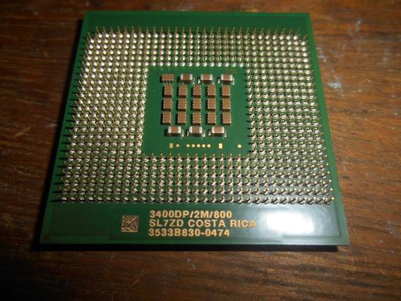 Processador Xeon 3.4ghz 800mhz 2mb Socket 604 Sl7zd