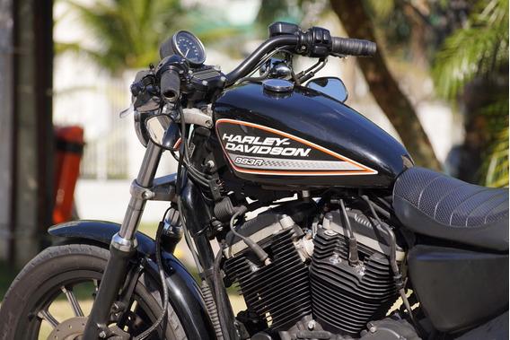 Vendo Ou Troco Harley 883r Por Carro 2010,2011,2012 Com Gnv.