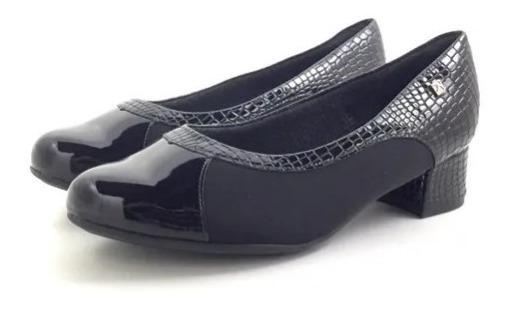Zapato Elastizado Con Tacón Y Neoprene. Piccadilly. Comodo