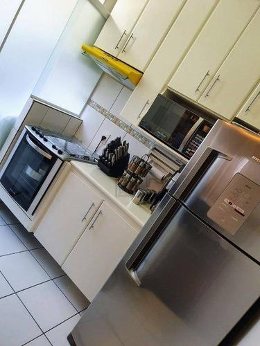 Apartamento Com 2 Dormitórios À Venda, 57 M² Por R$ 254.000,00 - Vila Carvalho - Sorocaba/sp - Ap1792