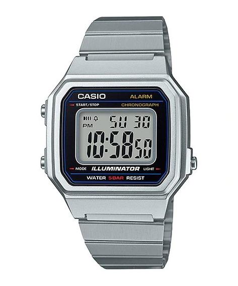 Relógio Casio Prata B650wd 1adf Original Nfe + Garantia