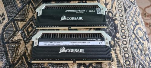 Imagem 1 de 6 de Memória Corsair Dominator 3200mhz