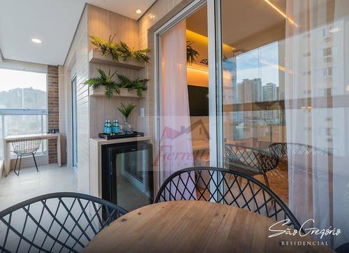 Apartamento À Venda No Bairro Campo Grande - Santos/sp - 1284