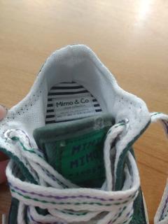 Zapatillas De Lona Mimo Primeros Pasos