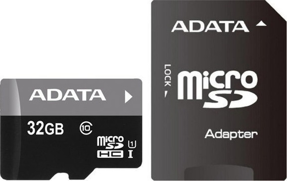 Cartao De Memoria Sd Adata Classe 10 + Micro Sd 32gb Novo