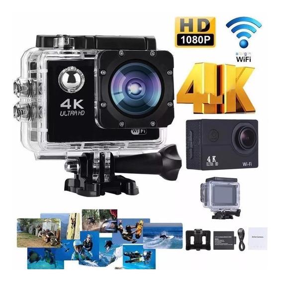Camera 4k Sport De Ação Action Câmera Hd Go Sport Wi-fi 4k