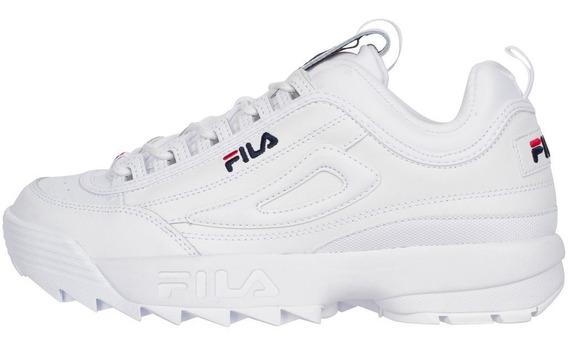 Tenis Fila Disruptor Li Blanco Retro Fw02945-111 Restock