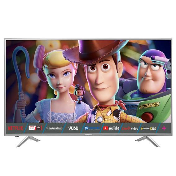 Pantalla Sharp 65 Pulgadas Smart Tv 4khd Hdr 65q620u Wifi /e
