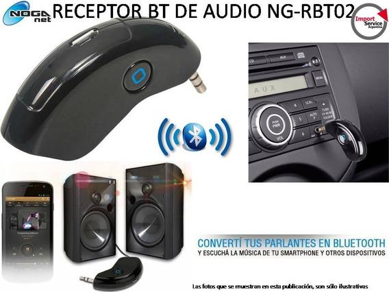 Receptor De Audio Ng-rbt02 Bluetooth Usb Auto Microf. Manos