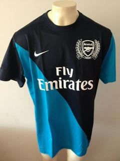 Camisa Arsenal 2011-2012 125 Anos Clube Emirates Na Etiqueta