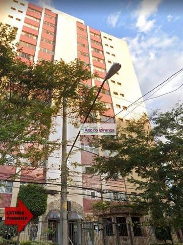 Apartamento À Venda, 89 M² Por R$ 380.000,00 - Vila Monumento - São Paulo/sp - Ap1519