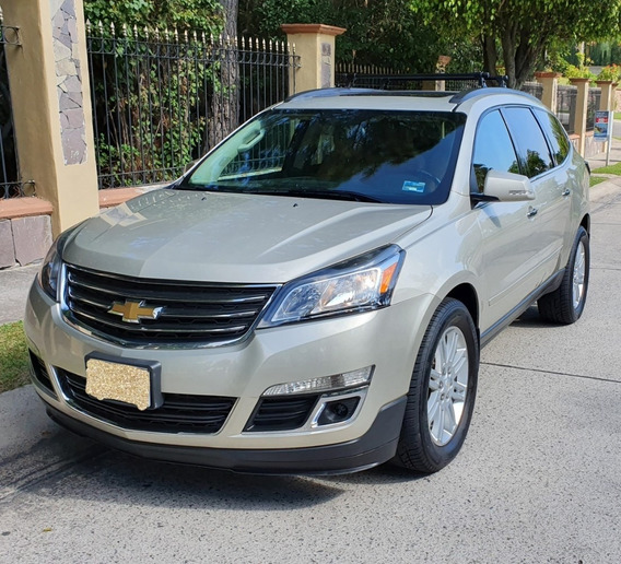 Impecable Chevrolet Traverse 2014 V6 Impecable 7 Pasajeros