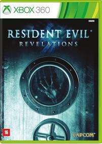 Jogo Resident Evil Revelations Xbox 360 Legenda Frete Grátis