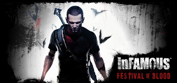 Infamous Festival Of Blood Ps3 Playstation 3