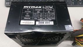 Fonte Atx 24 Pinos + Sata Mymax Mpsu/c420w-2s31 Pci-e