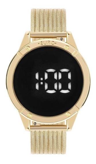 Relógio Euro Fashion Fit Touch Dourado Eubj3912aa/4f