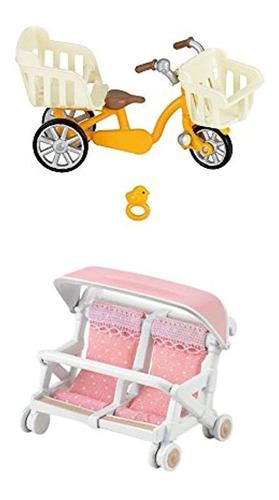 Setdejuguetes Con Ruedas, Colores Rosa-blanco-amarillo