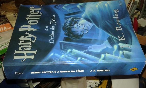 Livro- Harry Potter E A Ordem Da Fênix - Raro + Brinde