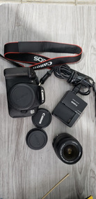 Corpo Camera Canon T4i + 18 55 Is Ii