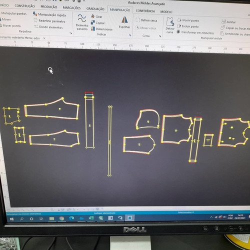 Imagem 1 de 5 de Corte E Modelagem