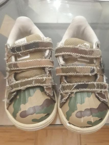 Zapatillas Superstar adidas Nen@ Camufladas