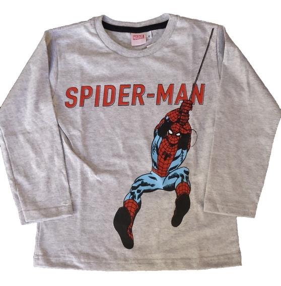 Pijama Marvel Spiderman Algodón Pantalón Puño Linea 2020