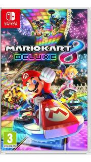 Mario Kart Deluxe 8 Nintendo Switch Nuevo Sellado Local