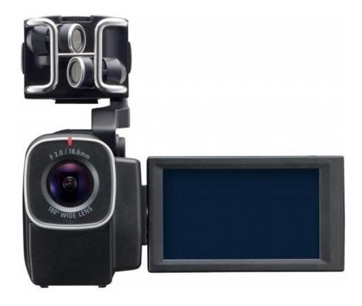 Gravador Digital De Áudio E Vídeo Zoom - Q8 Hd