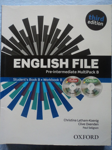 Livro+cd:english File:third Edition Oxford:completo:original