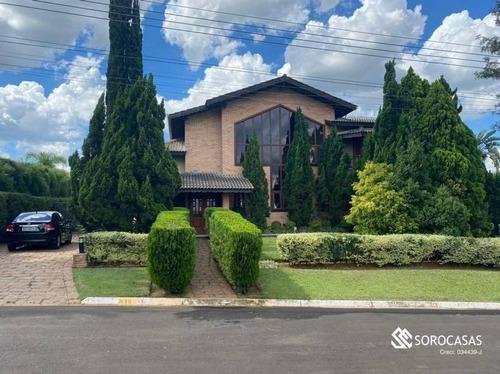 Casa Com 5 Dormitórios À Venda, 437 M² Por R$ 2.500.000,00 - Parque Village Castelo - Itu/sp - Ca1783