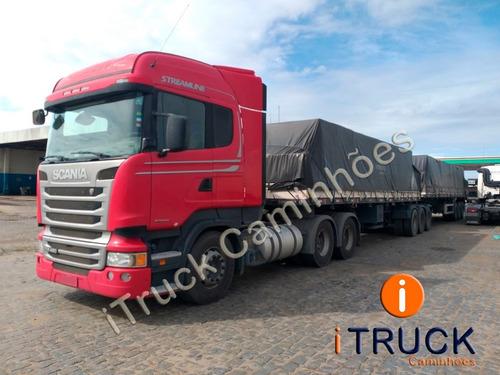 Scania R480 A 6x4 Ano 2015/16 Rodotrem Randon 2013=volvo 540