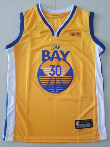 Curry #30 Golden State Warriors New Temp 20 - A Pedido
