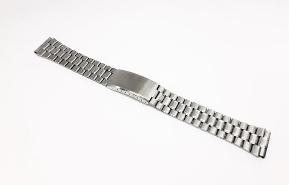 Pulseira De Aço P/ Relógio Orient Automático 18mm Original