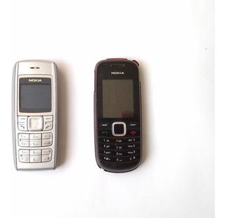 Combo Celular Nokia 1600b & Nokia 1661 Zwart