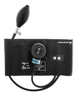 Aparelho De Pressão Esfigmomanômetro Metal Preto Bic Ap0236