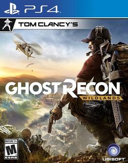 Tom Clancys Ghost Recon Wildlands Ps4 Fisico Sellado !!!