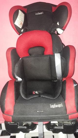 Bebê Conforto Vermelho/preto: Para Criança De 9 À 36 Kilos.