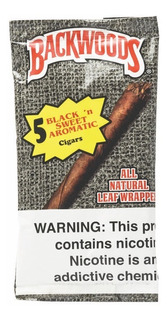 Backwoods Blunts 5 Pack Black